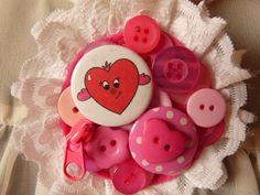 Items similar to Pink Heart Hug Brooch Send A Hug Corsage Brooch UK Seller on Etsy Feeling Under The Weather, Sending Hugs, Friend Birthday, Corsage, Brooch, Heart, Handmade Gifts, Pink, Etsy