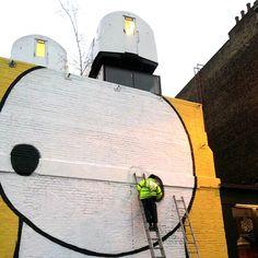 Stik x Thierry Noir on the streets of London - StreetArt101