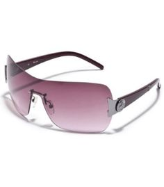 G by GUESS Rimless Shield With G Logo Temple