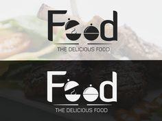 Food Logo designed by Muhammad Hameed Sarwar 💻. Connect with them on Dribbble; Logo Design Love, Food Logo Design, Logo Food, Logo Design Inspiration, Food Company Logo, Bake Sale Packaging, Logo Sport, Kitchen Logo, Logo Design Tutorial