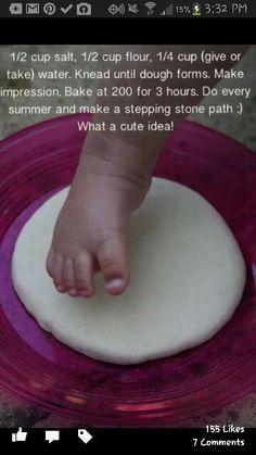 Baby footprints :-)