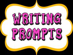 A pile of writing prompts (pictures, questions, etc) to use with your students. Have fun!