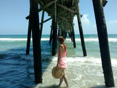 Under the pier on Daytona Beach