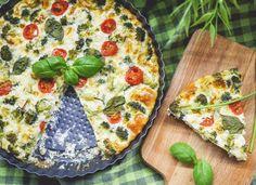 Torta de Legumes com Ricota