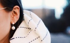 Major earring inspiration -- today on chicityfashion.com