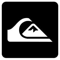 Quiksilver Wallpaper, Easy Tattoos To Draw, Skateboard Logo, Surf Brands, Surfboard Art, Wave Art, Stickers, Logo Inspiration, Logo Branding