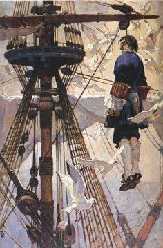 Dean Cornwell (American, 1892-1960) (152 работ)