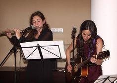 """Flauta: Erica Liquete Guitarra: Miriam Barriuso Narración del cuento para una boda """"La estrella robada!"""