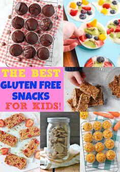 The Best Gluten Free Snacks for Kids!