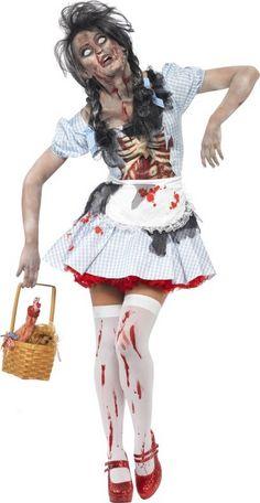 deguisement zombie femme fait maison