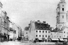 Das Schmidtor um 1870. Mehr dazu hier: http://www.nachrichten.at/oberoesterreich/linz/Von-brandgefaehrlichen-Schmieden-und-einem-trennenden-Tor;art66,1425464 (Bild: OÖN)