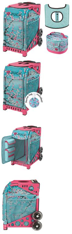 a461a3b434 Other Ice Skating 4939  Zuca Sport Bag - Hanami With Gift Lunchbox And Seat  Cover (Pink Frame) -  BUY IT NOW ONLY   170.0 on eBay!