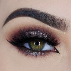 "Smokey Eye by Paulina, known as ""miaumauve"" on Instagram"