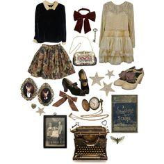 """August Moon"" by dollydust on Polyvore"