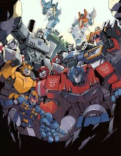 Transformers G1 - the only generation that really matters.