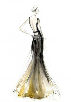 Love this fashion sketch!