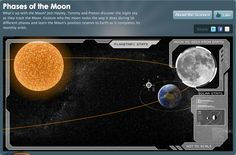 Phases of the Moon.  What's up with the Moon? Join Hayley, Tommy and Proton discover the night sky as they track the Moon. Explore why the moon looks the way it does during its different phases and learn the Moon's position relative to Earth as it completes its monthly orbit.