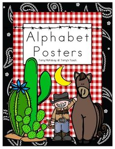Decorate your classroom with these cute Western themed alphabet posters from Terry's Touch. Check Terry's Touch for other upcoming companion resources. A list of the pictures used is provided. Teacher Created Materials, Teaching Materials, Cowboy Theme, Western Theme, Classroom Themes, Classroom Organization, Organization Ideas, Alphabet Posters, Teaching Activities