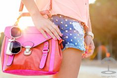 Orange and Pink Crimenes de la Moda