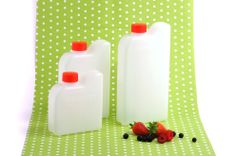 Juice bottles, Made in Finland. Berry Picking, Juice Bottles, Preserves, Plastic Cutting Board, Berries, Finland, How To Make, Preserve, Preserving Food