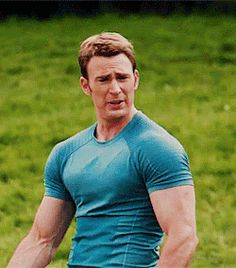 Steve Rogers.. Literally watched this 30 times