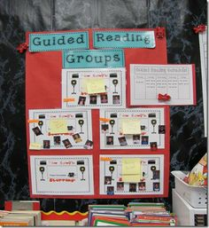 This whole post is about guided reading and I love it.