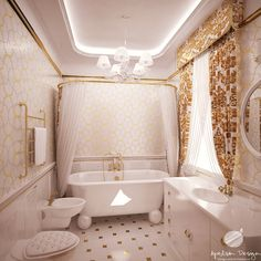 Ванная комната девочек