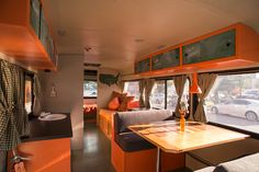 Cargo Space, a mobile artist's colony made from a transformed Rice University bus