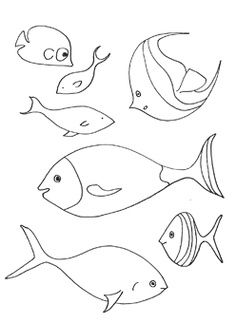 Tropical fish coloring page - Coloring Page | Summer