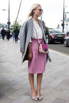 Streetstyle на Неделе моды в Лондоне. Часть 2