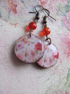 lovely earrings & lovely presentation