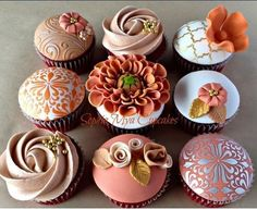 Autumn Inspired Cupcakes