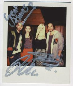 Bill and Tom with Marie and Lauren/ Bill e Tom com Marie e Lauren