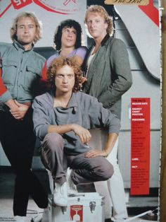 Foreigner Magazine Cutting Full Page Photo REF FF | eBay