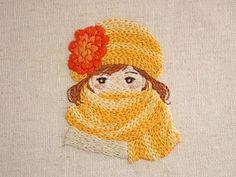 2017.1.17 . 寒い日が続いてますね、、、 . . #刺繍#手刺繍#ステッチ#手芸#embroidery#handembroidery#stitching#자수#broderie#bordado#вишивка#stickerei