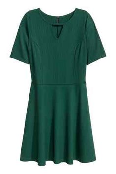 Sukienka z dżerseju w prążki