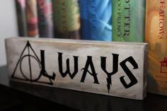 """""""Always"""" Harry Potter Inspired - Small Quote by StudioSeventyNine"""