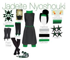"""""""Jadeite Nyoshouki"""" by emmasart ❤ liked on Polyvore featuring TOMS"""
