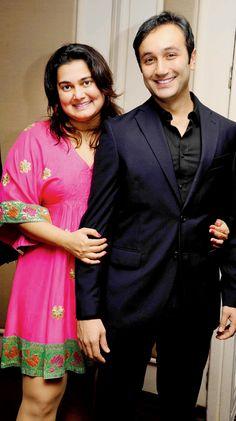 Divya Palat and Aditya Hitkari at launch of fashion calendar. #Style #Page3 #Fashion #Beauty