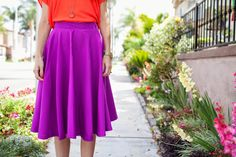 Merrick's Art // Style + Sewing for the Everyday Girl: DIY FRIDAY: CIRCLE SKIRT TUTORIAL
