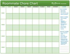 Here is a 2 person blank Weekly Chore Chart that is good for the month. These can be printed as each month arrives, or print multiples for the year ahead. :)