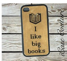 I like big books  iphone 4 case iphone 4s case by icasecouture, $15.99