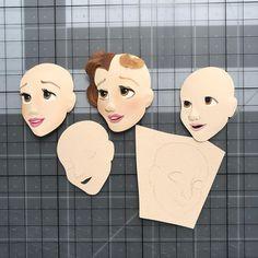 งานกระดาษ 3d Paper Art, Paper Artwork, Paper Artist, Diy Paper, Paper Crafts, Kirigami, Pop Up Art, Paper Puppets, Paper Magic