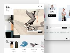 Yet another sketch on series of themes for Shopify.  Photos by Ryan Edy,   Oliver Raven and some random peaces