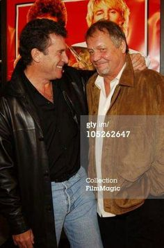 Paul Michael Glaser & David Soul (together in 2004 because of the movie Starsky and Hutch)