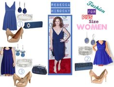 Fashion For Plus SIze Women: 7 Styles of Rebecca Wisocky from Devious Maids
