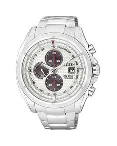 Ρολόι Citizen Chronograph EcoDrive Titanium CA0550-52A