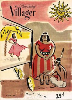 Palm Springs Villager magazine