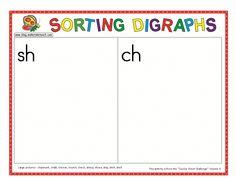 Classroom Freebies Too: Sorting Digraphs