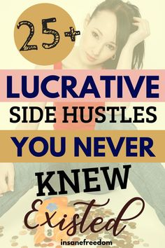 25 Lucrative Side Hustles To Make Extra Cash Struggling to choose a side hustle or two for extra cash? Here are lucrative side hustle ideas for you to choose from. Best of all, these relatively unknown side hustles are quite lucrative! Earn Money From Home, Earn Money Online, Make Money Blogging, Money Tips, Online Jobs, Money Fast, Win Money, Blogging Ideas, Money Today
